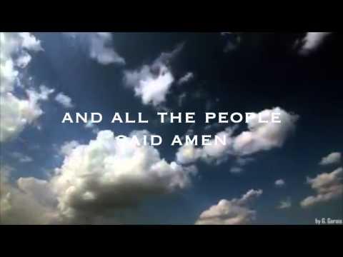 All The People Said Amen, Matt Maher (Lyrics)
