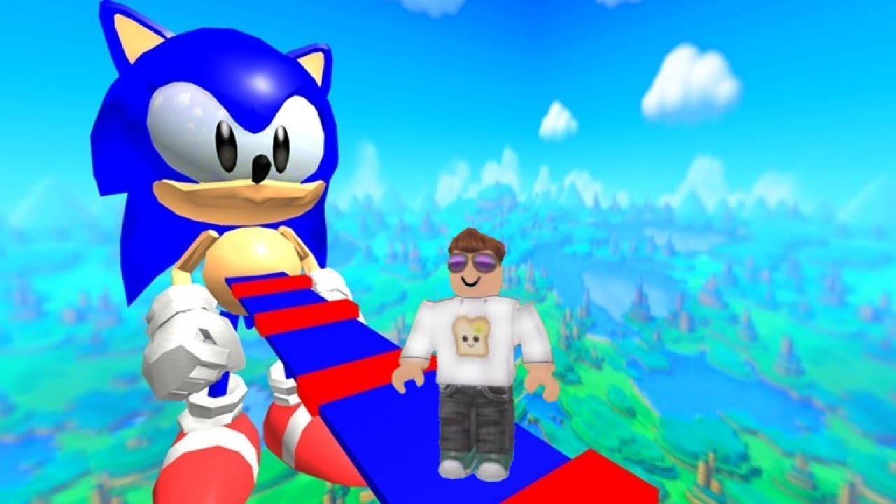 Omega Obby Roblox Escape Sonic Obby Roblox Youtube