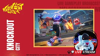 Knockout City Gameplay Highlights with the #MeloCrew | #EpicPartner Support-a-Creator MELOGRAPHICS