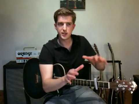 play ten songs on guitar with two easy chords white lies guitar lesson youtube. Black Bedroom Furniture Sets. Home Design Ideas