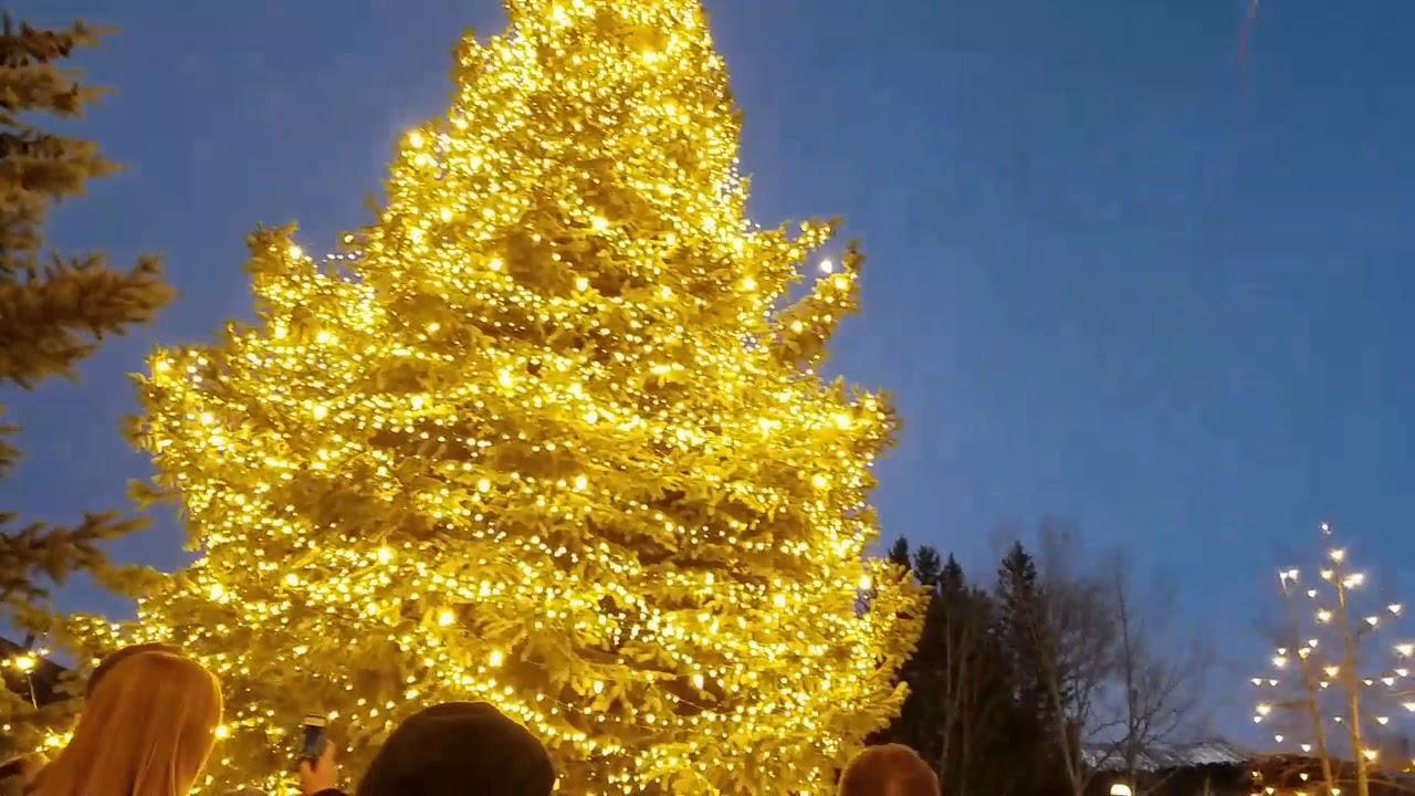 christmas tree lighting breckenridge co - Breckenridge Christmas