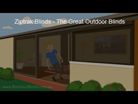 Ziptrak Blinds: The Great Outdoor Blinds