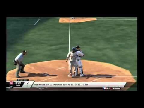 mlb 11 the show expos vs bluejays