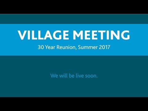 Village Gathering - 30 Year Reunion 2017   Pearson College UWC