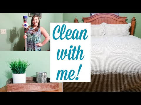 CLEAN WITH ME | MASTER BEDROOM & BATHROOM