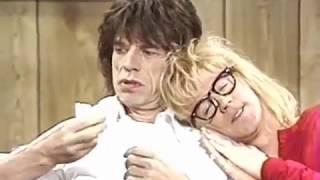 SNL - Wayne's World welcomes Mick Jagger