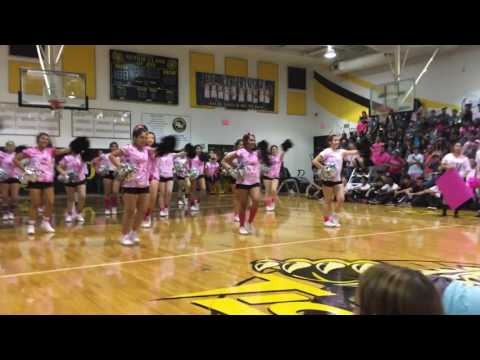 2016 Spring Woods High School Pink Out Pep Rally