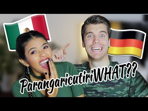 Mexican girlfriend tests my SPANISH!!