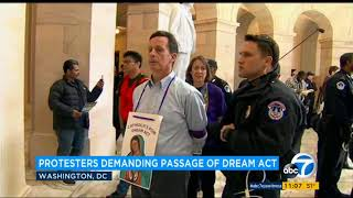 Catholic Faith Leaders Arrested in Nonviolent, Prayerful Protest for a Clean Dream Act
