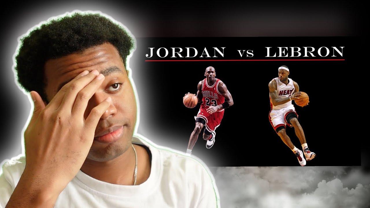 Download WOW….IT WASN'T EVEN CLOSE!!! Jordan Vs Lebron - The Best GOAT Comparison Reaction