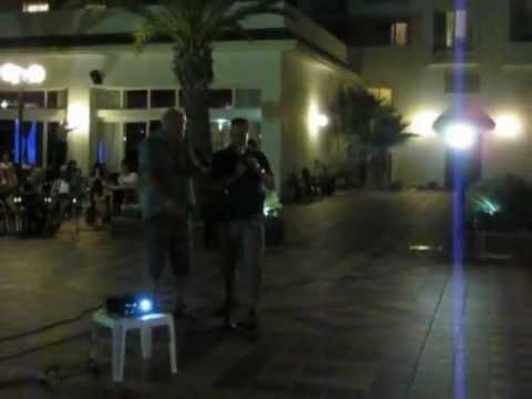 Karaoke @ RIUclub Marco Polo te Hammamet Yasmine (Tunesie)