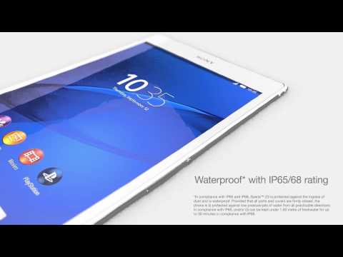 """Sony Xperia Z3 Tablet Compact: flagship tablet with 8"""" Full HD display, 8.1 MP camera, and IP65/68"""