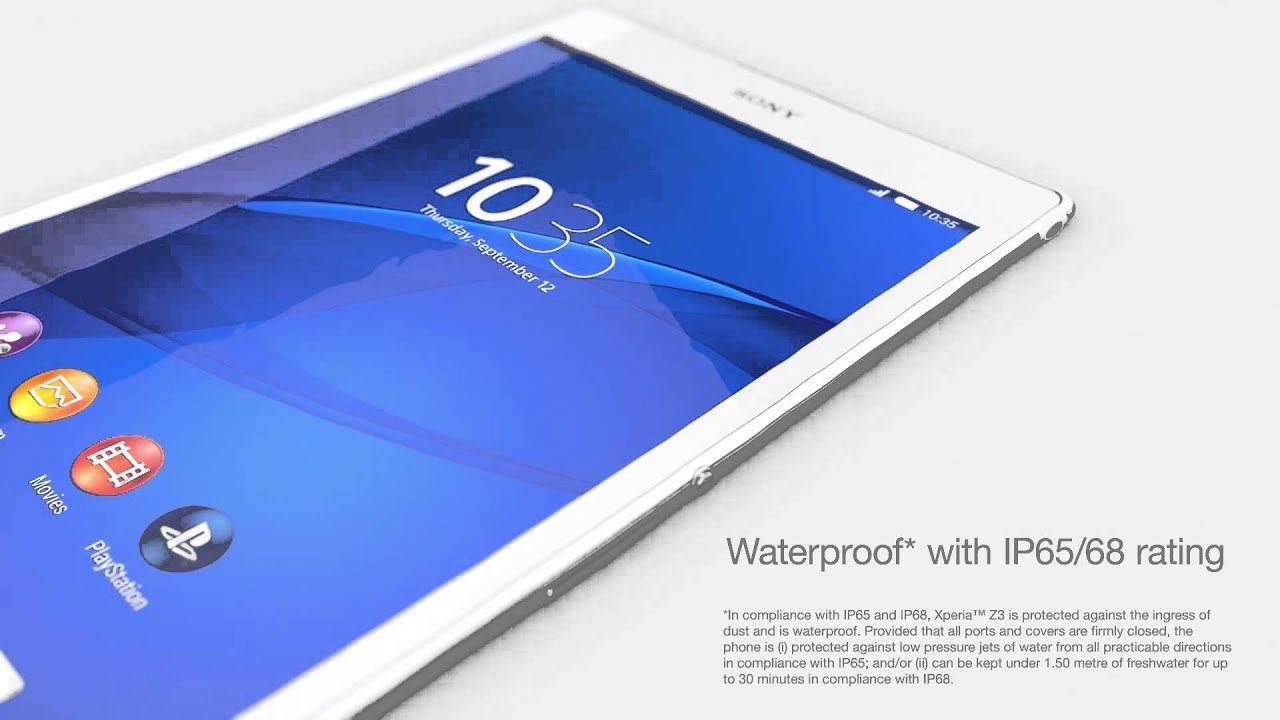 Hd wallpaper xperia z3 - Sony Xperia Z3 Tablet Compact Flagship Tablet With 8 Full Hd Display 8 1 Mp Camera And Ip65 68