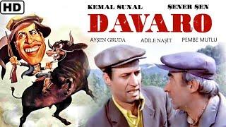 Davaro  (1981) - Türk Filmi (Kemal Sunal & Şener Şen) HD
