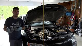 Replacing The Spark Plugs in a 5.7L Hemi Chrysler 300 Tune up