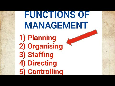 """five functions of managment Fayol""""s five functions of management and his 14 principles of management lead to an organizational structure that is administrative, hierarchical,."""