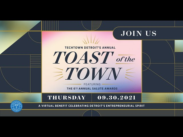 TechTown Virtual Toast Of The Town  Sept  30