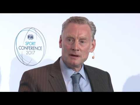 Sean Bratches at the 2017 FIA Sport Conference