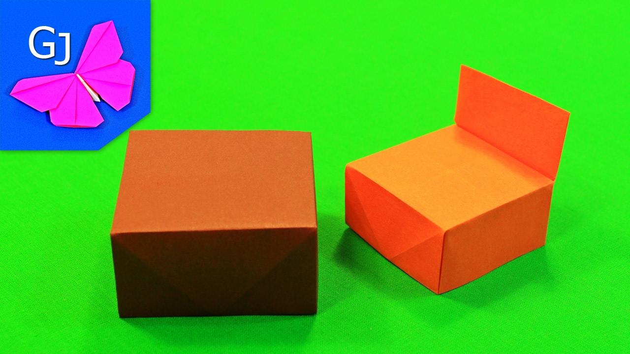 Мебель оригами своими руками фото 106