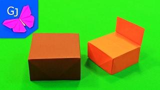 Оригами Стол и Кресло из бумаги