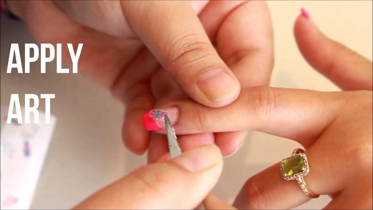 It\'s Baby Time - Joby Nail Art - YouTube