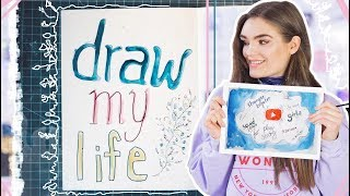 Draw My Life // a story by I'mJette