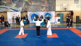 Sparring Male -78kg China VS  Japan  【8th Asian Taekwondo Championship 2016 at Almaty】