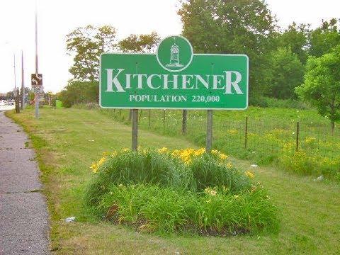 Kitchener, Ontario: Driving Around Downtown (2017)