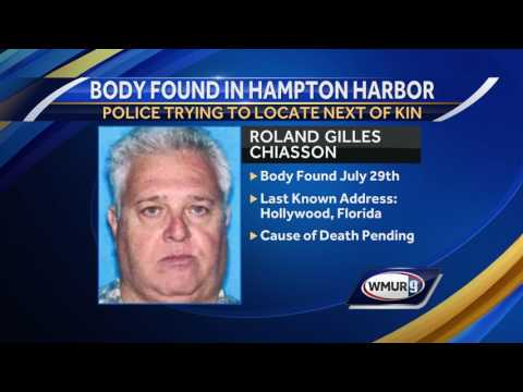 Police hope for more information about man found dead in harbor