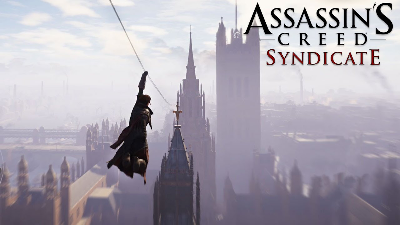 Assassin's Creed Syndicate Gameplay - Grappling Hook - YouTube