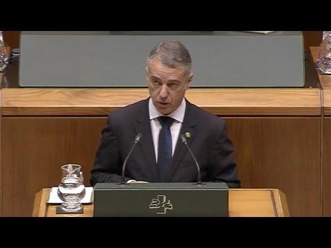 El nacionalista Iñigo Urkullu fue reelecto al frente del gobierno del País Vasco