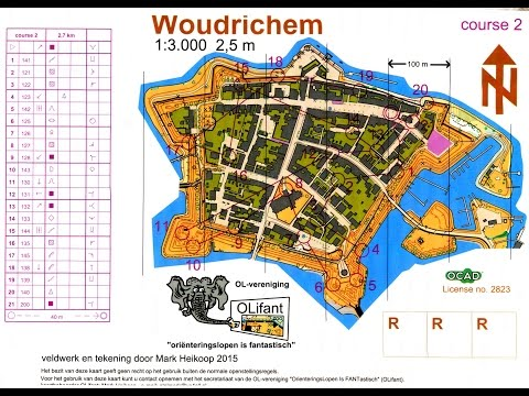 Holland-OL 3 Day Orienteering event, stage 3 (urban sprint) - Woudrichem 6 May 2016