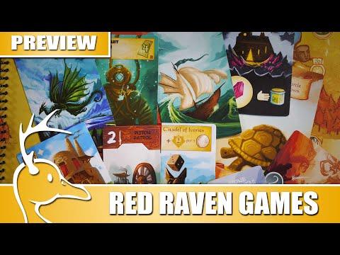 Red Raven Games - Showcase - (Quackalope Games)