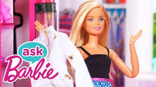 Ask Barbie About Her Ultimate House Tour! | Barbie