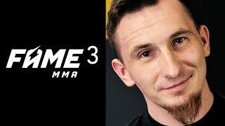 FAME MMA 3 Isamu Grizzly FanArt Poster | foto manipulacja Photoshop - Na żywo