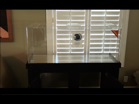 Channel intro, 75 Gallon Clear for Life aquarium and R&J Stand Initial Impressions
