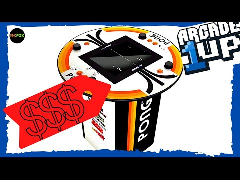 Arcade1up Pong Pub Table price revealed!! from 19kfox