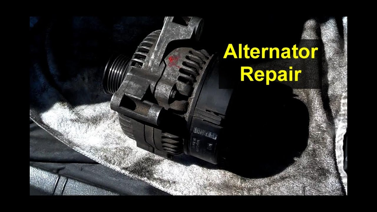 how to repair your alternator rebuild regulator replacement votd [ 1280 x 720 Pixel ]