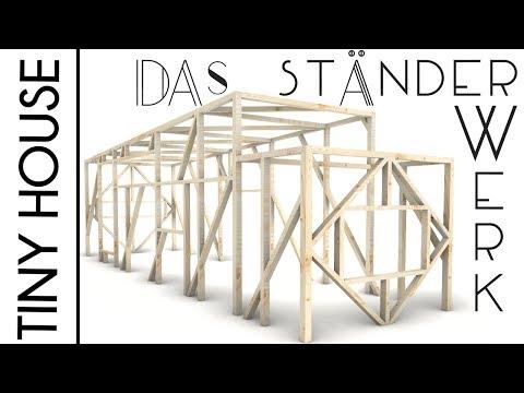 TINY HOUSE Deutschland I Das Ständerwerk