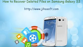 How to Recover Photos, Videos, Contacts, SMS from Samsung Galaxy S5/S6/S6 Edge/S7/S7 Edge