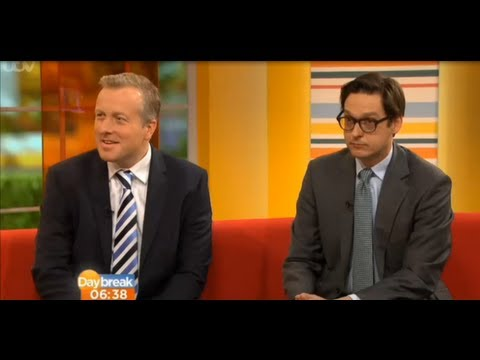 Jonathan Rolande Director Of House Buy Fast With The Office Of Fair Trading On ITV's Daybreak