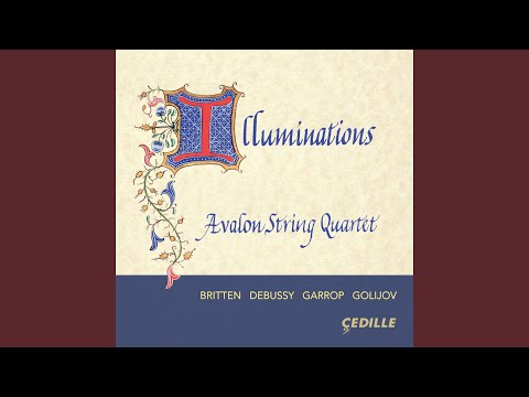 Image for String Quartet No. 4, Illuminations: III. Singing Angels