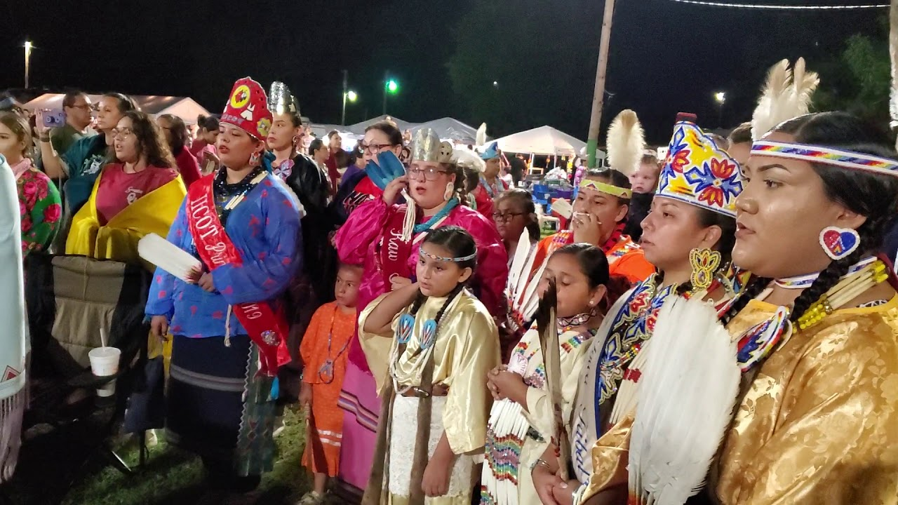 2019 Ponca Powwow Lady Singers Song