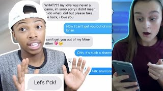 pranking her ex boyfriend gone sexual with we don t talk anymore song lyrics reaction