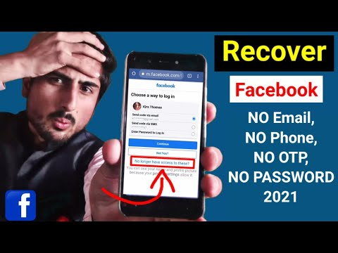 Facebook Hacked Account Kaise Recover Kare? Whitout Number & Email OTP 2021   Technical Xtreamer