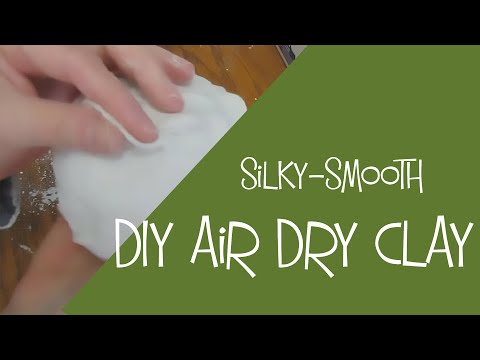 Jonni's DIY Air-Dry Clay Recipe with Gram Measurements