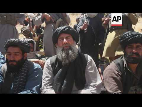 Afghan Taliban faction backs peace talks