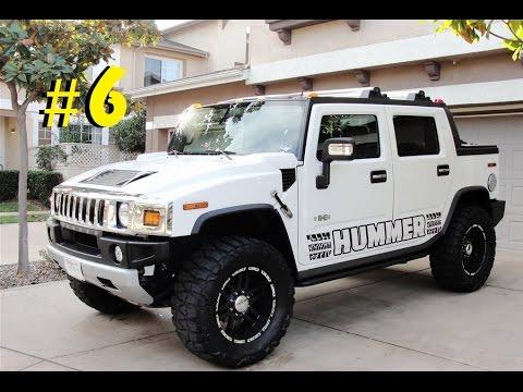Hummer H3 2019 >> As 10 picapes mais legais do mundo #6 - YouTube