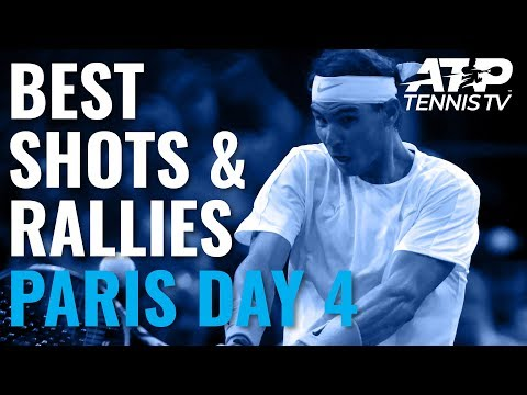 Best Shots & Great Rallies | Paris 2019 Day 4