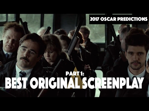 Oscar Predictions 2017 Part 1: Best Original Screenplay